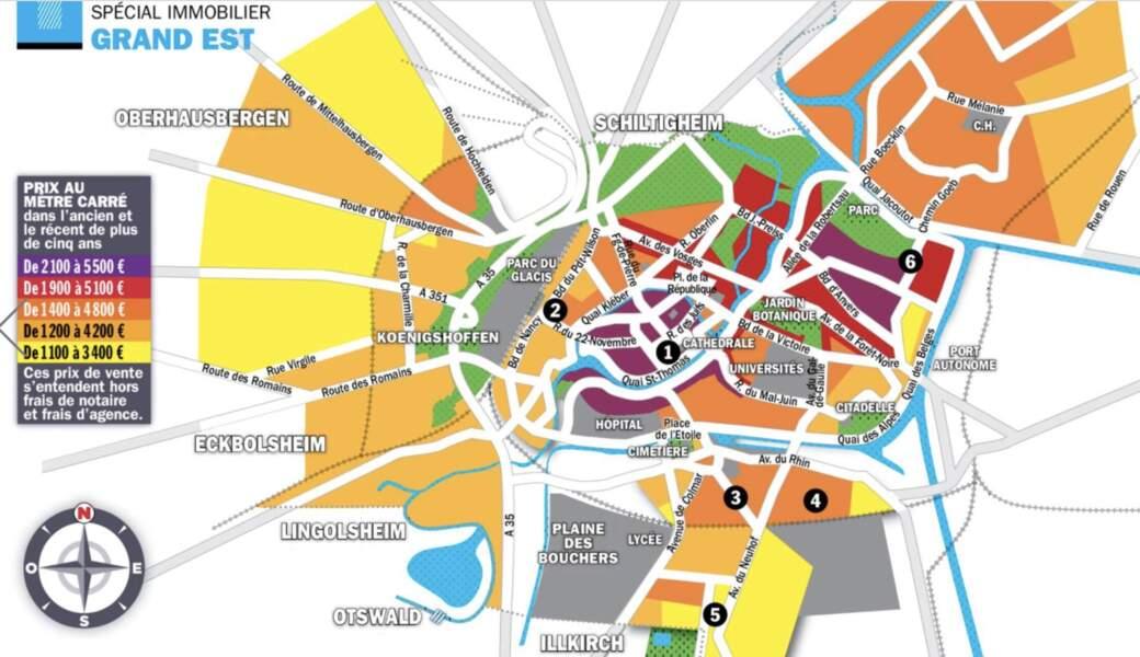 Strasbourg : surcote de 10% pour les surfaces avec le cachet de l'ancien
