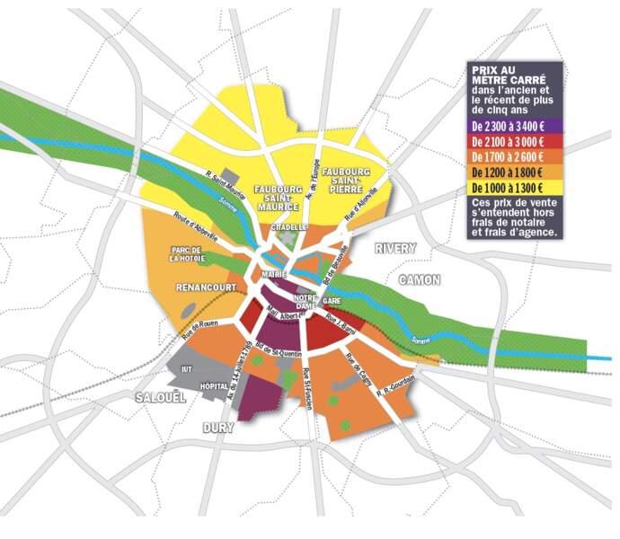Amiens : rabais de rigueur sur les demeures à plus de 500.000 euros