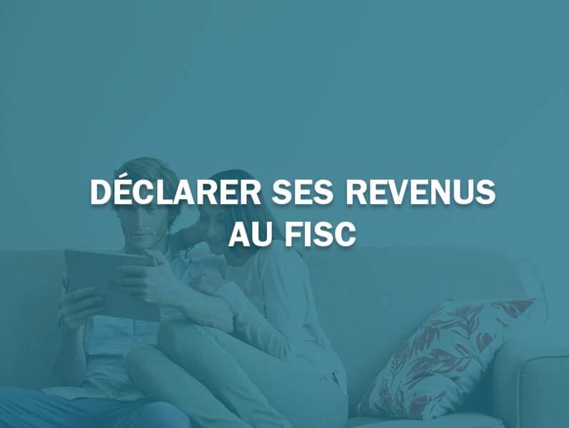Déclarer ses revenus au fisc